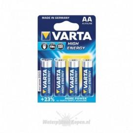 Varta Alkaline Batterij AA - 4 st.