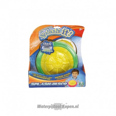 Splash It Frisbee (gevuld met water)