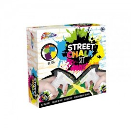 Street Chalk set 9-delig